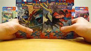 4 Pokemon X and Y Booster Pack Opening - YouTube