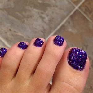 Best toe glitter nail art design ideas