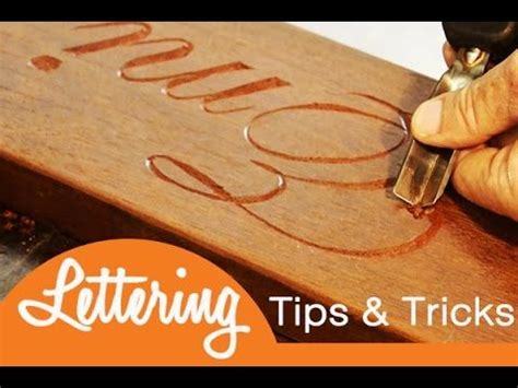 lettering tips trips easy diy project     hand