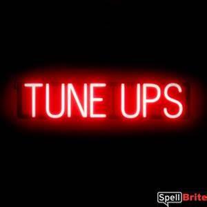 TUNE UPS Sign