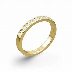 matching 39flush fit39 diamond wedding band 407 With flush wedding rings