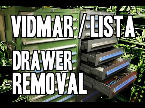 vidmar cabinet lock removal how to vidmar lista cabinet drawer removal