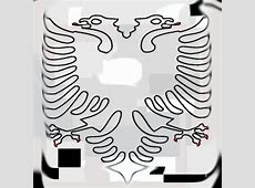 Flamuri I Shqiperise Coloring wwwpixsharkcom Images