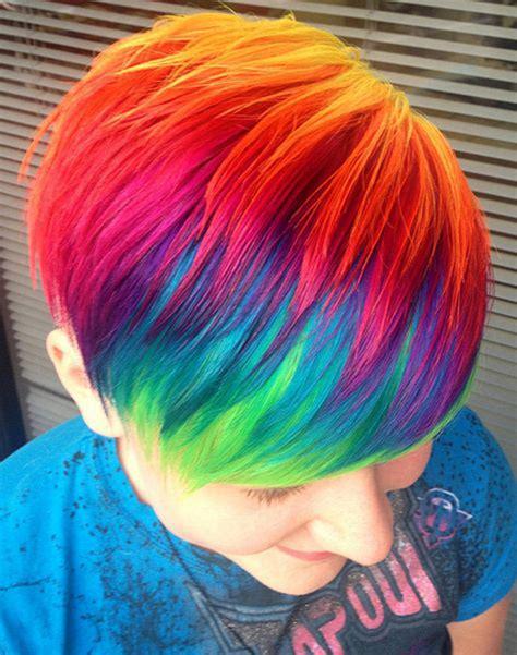 top  des personnes qui ont pris le rainbow hair au