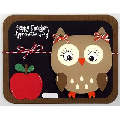 Glora's Crafts: Happy Teacher Appreciation Day!