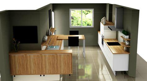 ouverture cuisine ouverture entre cuisine et salon obasinc com