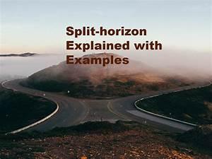 Split Horizon Explained With Examples