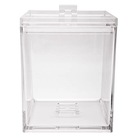 zak designs meeme mini stackable kitchen canister clear