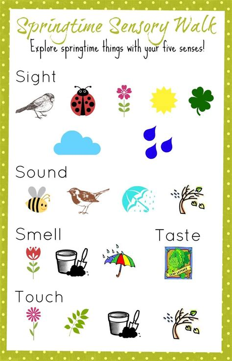 springtime sensory walk use this colorful printable to 144 | f3379aae2a7ea0fb265f38bb8f218289