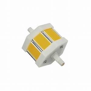 Ampoule Led R7s 78mm : ampoule led r7s 78 mm led cob de 5 watts ~ Melissatoandfro.com Idées de Décoration