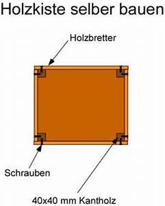 Holzschachtel Mit Deckel : eine holzkiste selber bauen anleitung mit bauplan ~ Buech-reservation.com Haus und Dekorationen