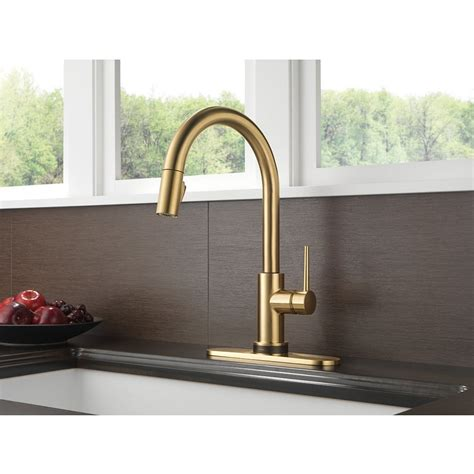Delta Trinsic Kitchen Faucet Touch2o by Delta Trinsic Single Handle Pull Kitchen Faucet