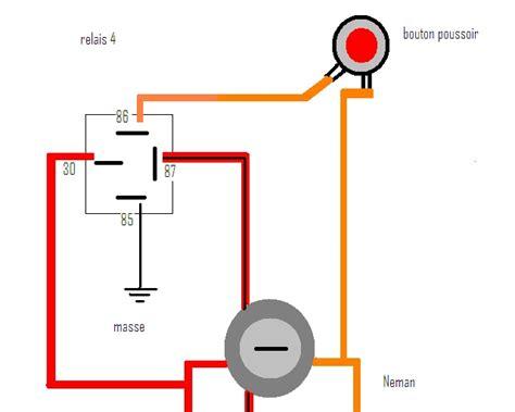 schema bouton poussoir www fiatcoupe fr afficher le sujet sch 233 ma pour connection bouton poussoir klaxon