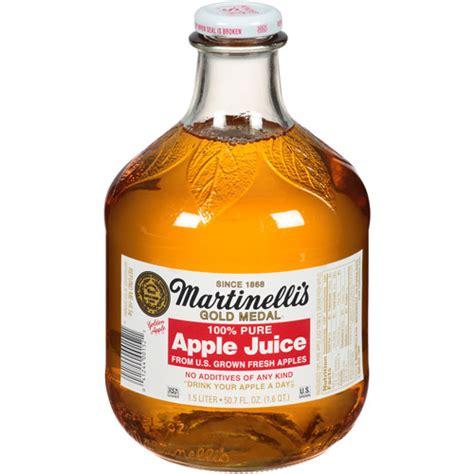 Martinelli's Gold Medal 100% Pure Apple Juice, 50.7 fl oz ...