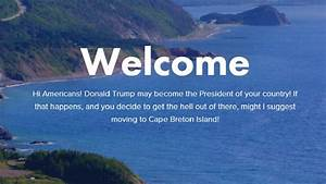 If Trump wins, Canadian island to welcome Americans who ...