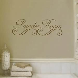 17 decorative bathroom wall decals keribrownhomes With bathroom wall decals
