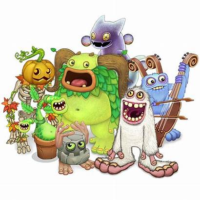 Monsters Singing Sing Mysingingmonsters Characters Games Bubble