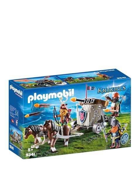 9341 PLAYMOBIL® Knights Katapulta ar zirgu, no 5+ 9341 ...
