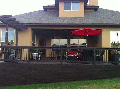 color   deck  front porch rail behr padre