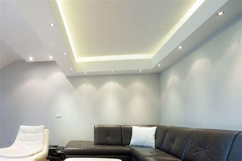 decke gipskarton led light plasterboard vcut
