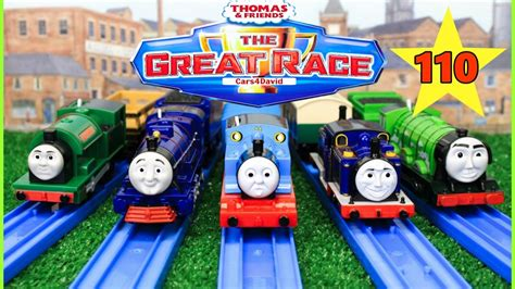 Thomas And Friends The Great Race #110 |trackmaster Snowy