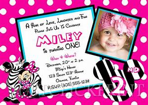 Best Photos of Minnie Mouse Birthday Card Template ...