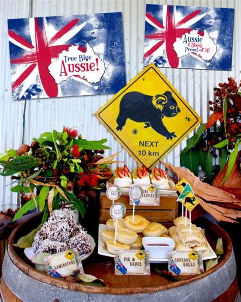 Knowing More About Australian Themed Party  Home Party