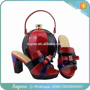 Orange High Heel Italian Shoes With Matching Bags Set For