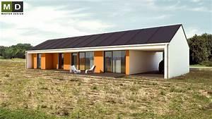 Přízemní dům se sedlovou střechou