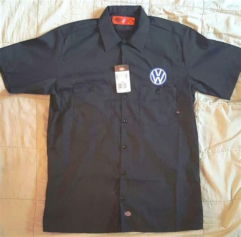 custom dickies ls navy embroidered vw volkswagen