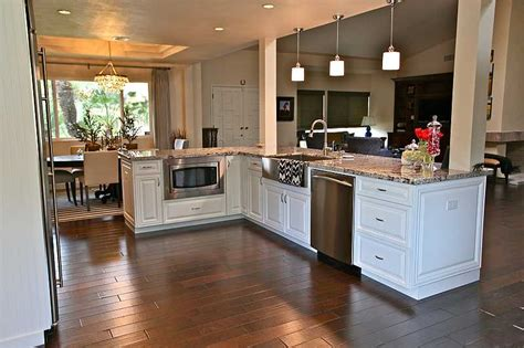 pictures of remodeled kitchens with white cabinets kitchen enchanting kitchen cabinets arizona design 9729