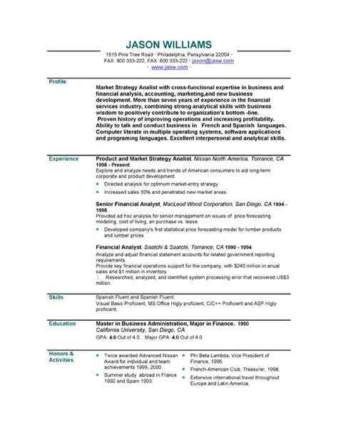 curriculum vitae format template download curriculum vitae personal statement sles 018 latest resume format