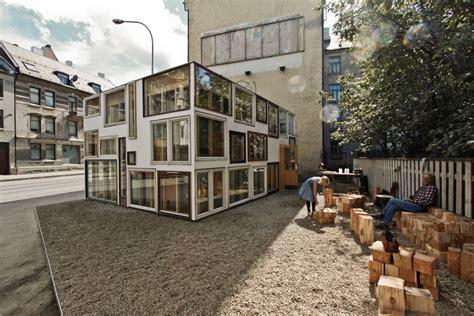 rake showroom rake visningsrom plataforma arquitectura
