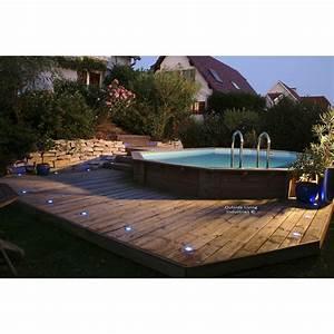 Piscine Hors Sol : piscine hors sol bois odyssea procopi octogonale ~ Melissatoandfro.com Idées de Décoration