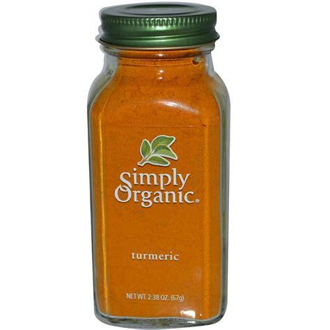cuisine curcuma simply organic turmeric 2 38 oz 67 g iherb com