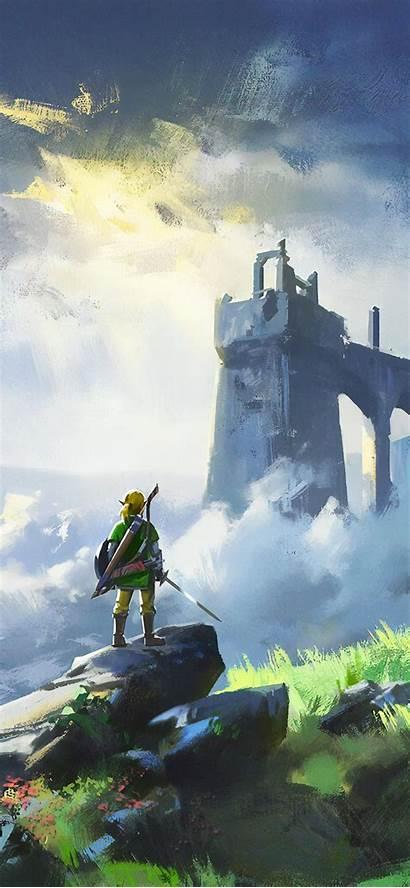 Zelda Legend Iphone 4k Breath Wild Xs