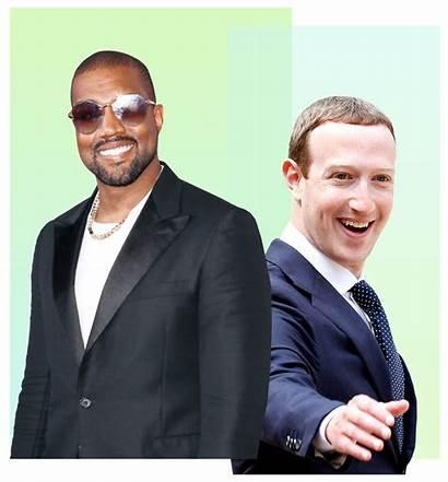 Zuckerberg Mark West Kanye Karaoke Worries Forget