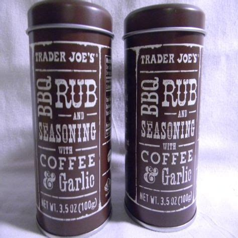 Anyway here is the recipe: Trader Joe's BBQ Rub and Seasoning with Coffee & Garlic (Pack of 2) (With images) | Trader joes ...