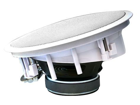8 inches kevlar in ceiling speakers pair w 15 degree