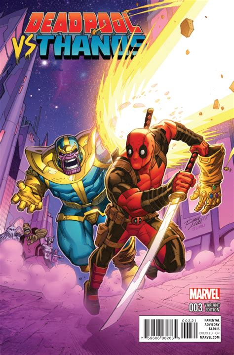 Preview Deadpool Vs Thanos #3  Comic Vine