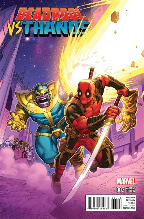 Preview Deadpool Vs Thanos #3  Comic Vine