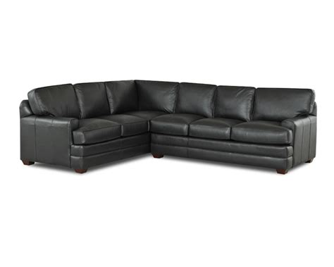 l shaped leather sofa black leather l shaped sofa thesofa