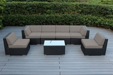 wicker sectional patio furniture genuine 16 ohana wicker patio furniture set outdoor