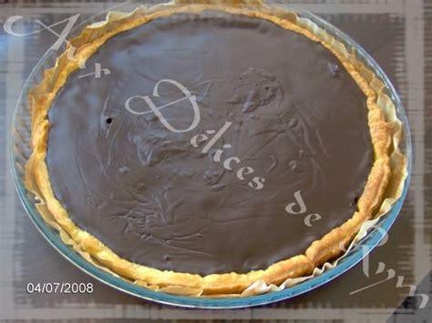tarte au chocolat avec pate feuillet 233 e