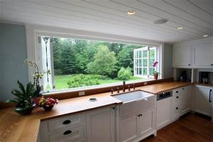 large kitchen window home design garden architecture With fenetre panoramique