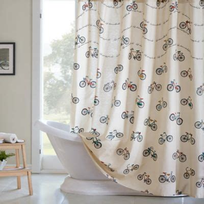 vintage shower curtains buy retro shower curtain from bed bath beyond