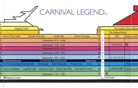 carnival liberty deck plans printable pictures