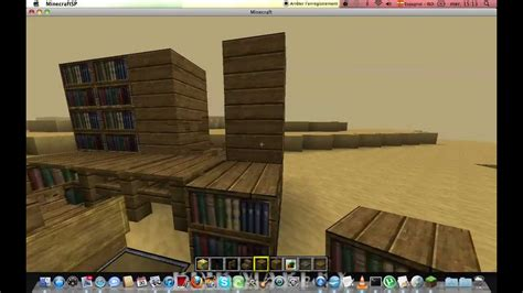 minecraftconstruction tuto comment faire un bureau et un