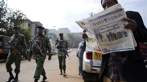 U.s. Agents Already Sifting Rubble Of Kenya Mall Attack