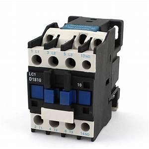 Ac Contactor Ac220v Coil 32a 3 60hz Motor
